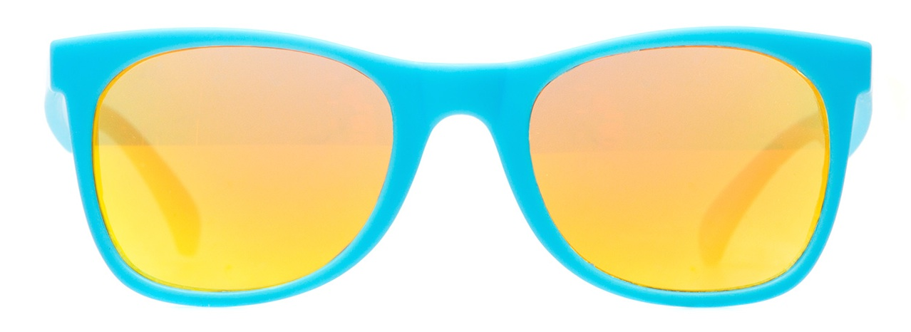 Knockaround x The Honest Company Teal Sunset Sunglasses