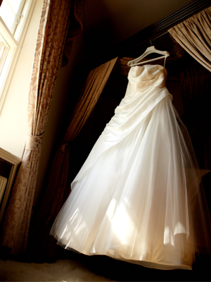 Drop Off Wedding Gown To Cleaner