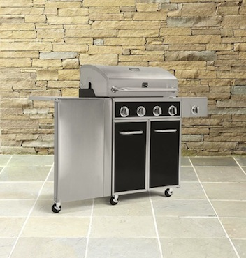 Sears | Kenmore 4 Burner Gas Grill with Folding Side Table