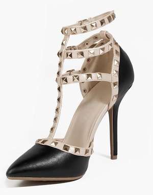 Blogger Studded Heel