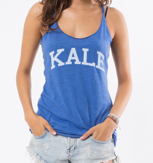 Kale Racer Tank