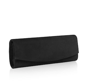 Muse Suede Clutch