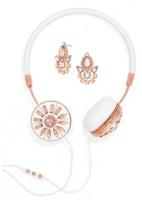 Rose Gold Frends x BaubleBar Layla Headphones