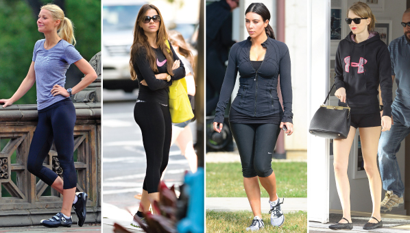 13 Celebrity Workout Routines Revealed