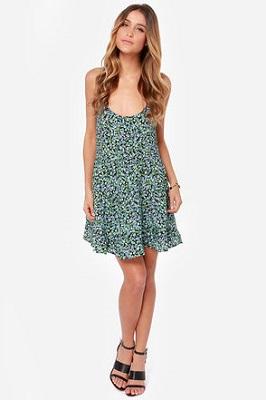 lulus floral print dress