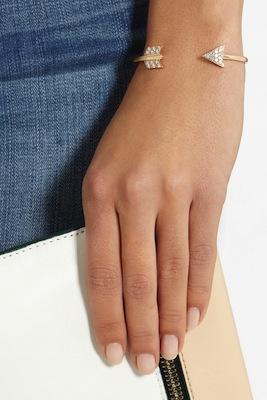 ANITA KO Arrow 18karat rose gold bracelet