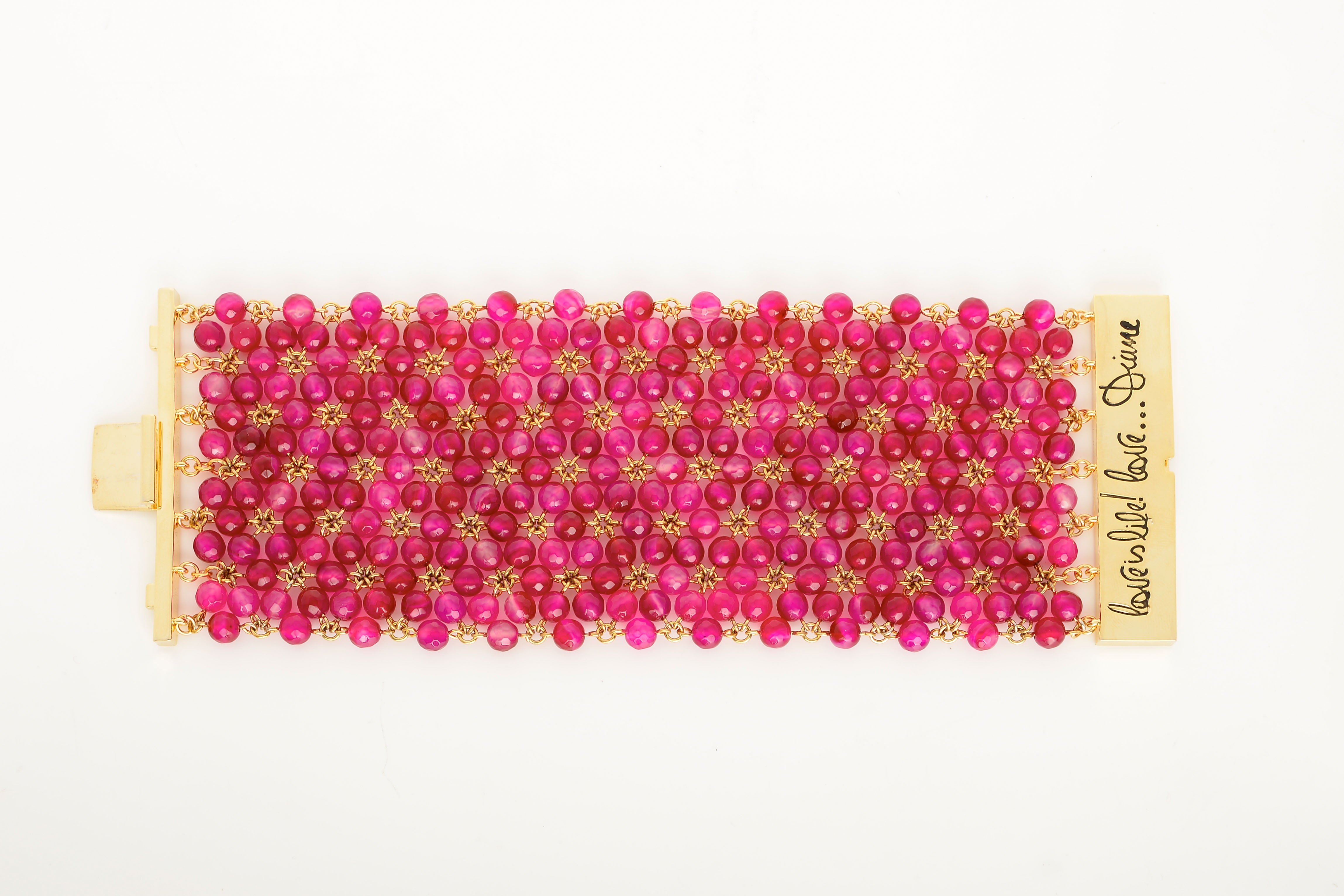 DVF- Honey Bracelet in Beet