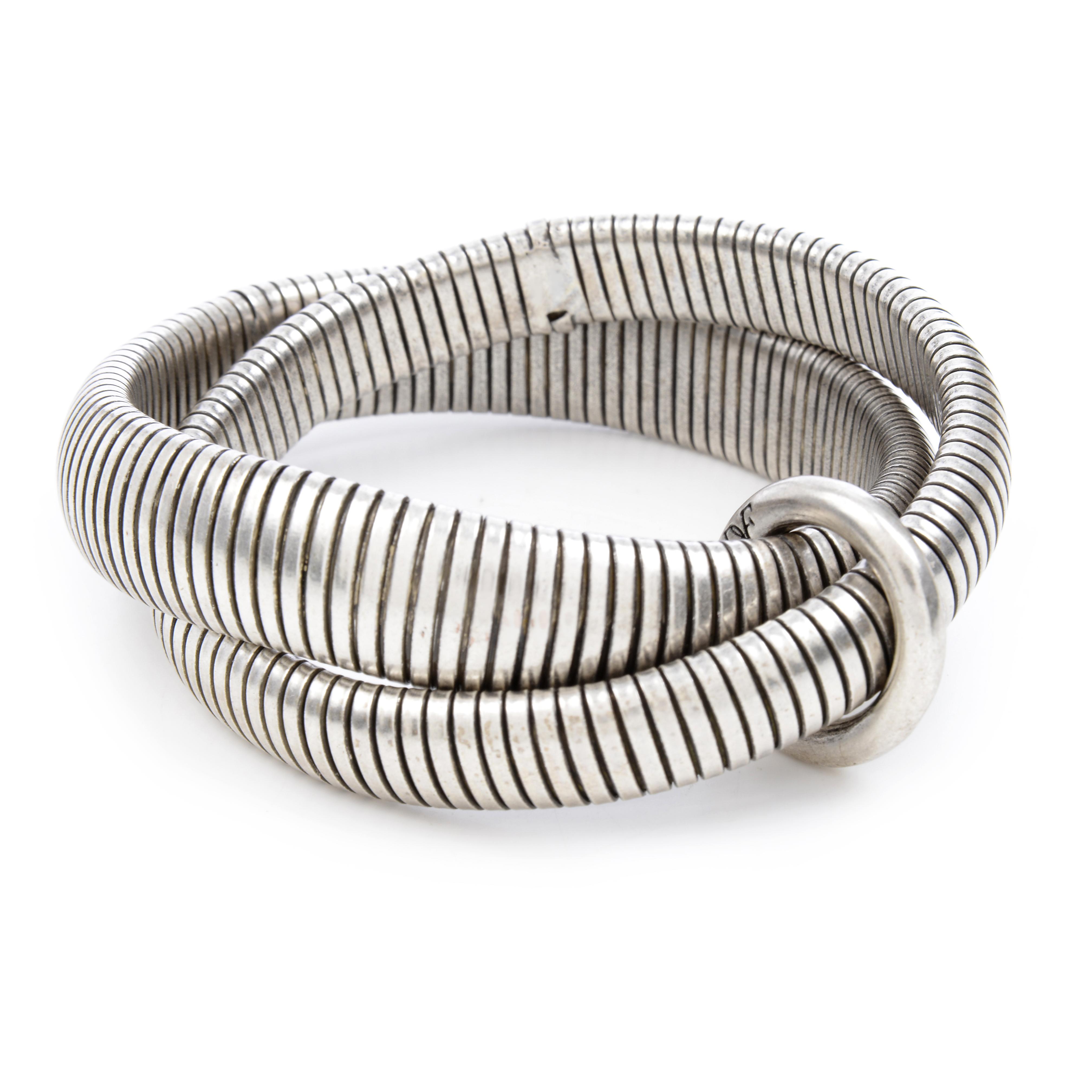 DVF- Silver Gemma Bracelets