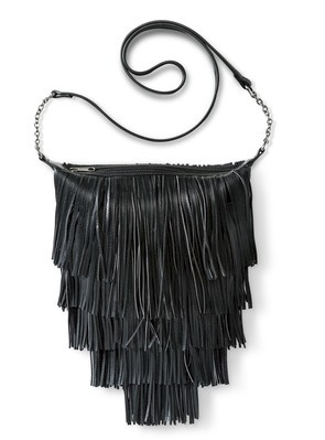 Mossimo Supply Co Fringe Crossbody Handbag 2
