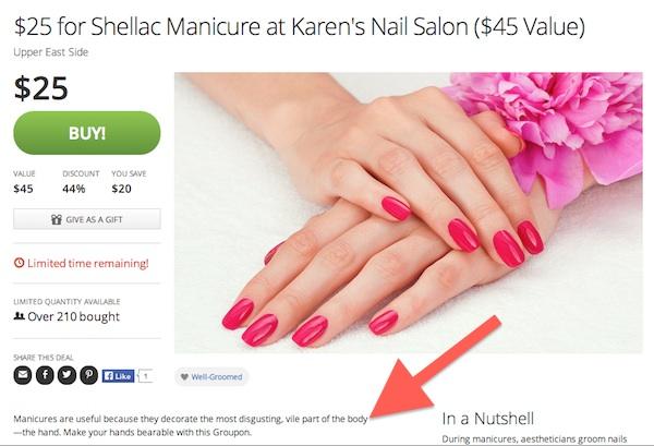 Shellac Manicure Groupon Karen