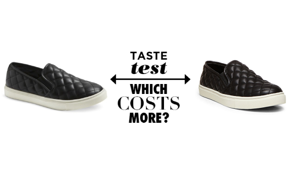 094dde7745e Can You Guess Which Quilted Leather Slip-Ons Cost  34 More Than The Other