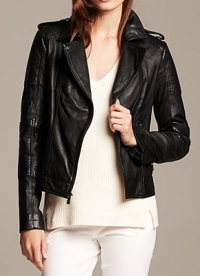 select for genuine diverse styles bright in luster Topshop Ultimate Faux Leather Biker Jacket - SHEfinds