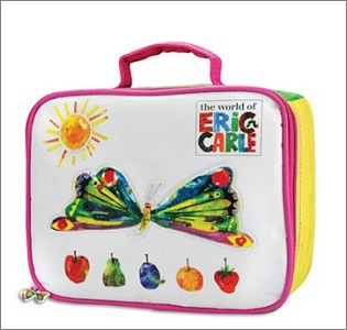 eric carle lunch bag