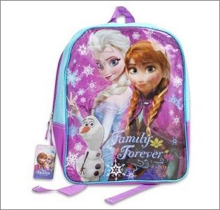 frozen backpack