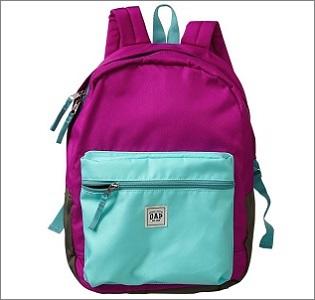gap colorblock backpack