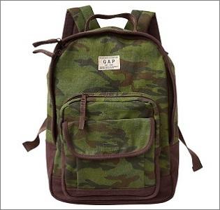 gap nylon backpack