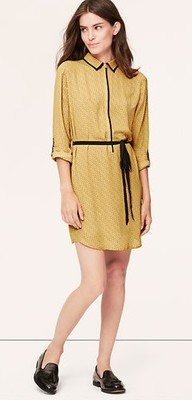 loft shirtdress