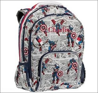 pbk captain america backpack