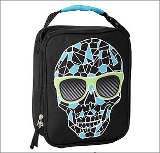 skull lunch bag