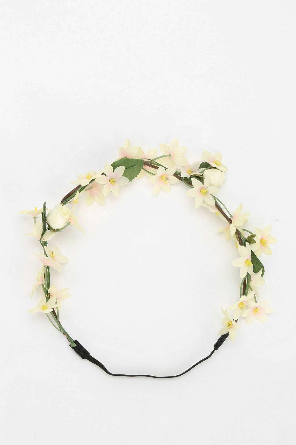 Assorted Flower Crown Headwrap