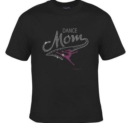 Dance Mom Rhinestone Adult T Shirt Shefinds