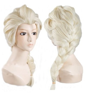Elsa Adult Princess Salon Quality Costume Wig Only