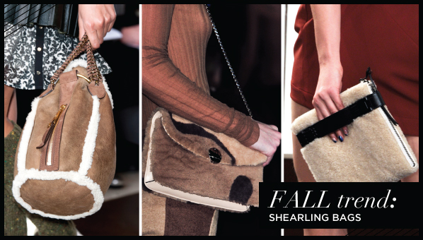 We Already Told You That Shearling Was Going To Be A Huge Trend This Season From Coats And Jacket Shoes Handbags Saw It All At The Fall 2018