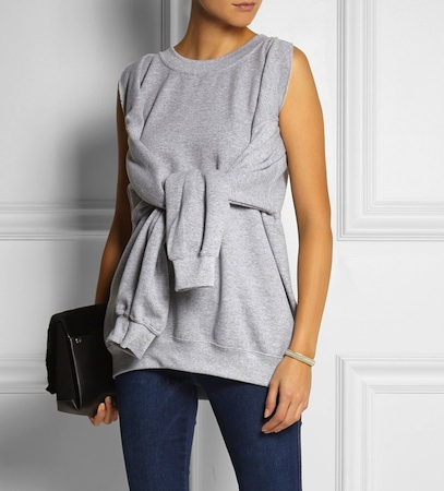 Slow and Steady Wins the Race cotton-blend top