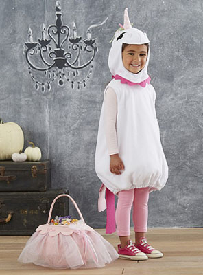 White Unicorn Costume  sc 1 st  SHEfinds : pottery barn puppy costume  - Germanpascual.Com