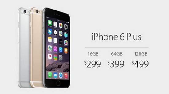 iphone 6 plus pricing