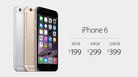iphone 6 pricing
