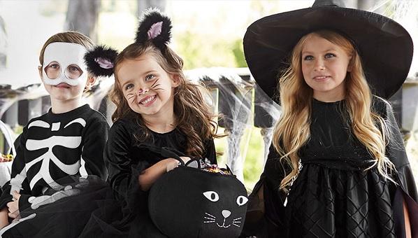 large editorial image - Halloween Barn
