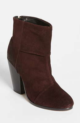 1bec66f14da Your Black Booties Have Nothing On These Burgundy Ones