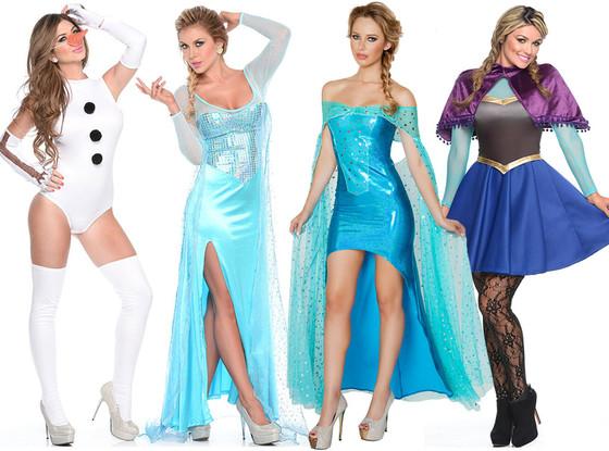 sexy frozen halloween costume