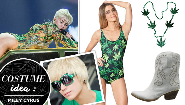 Miley Cyrusu0027 Bangerz Tour Halloween Costume Is Only Legal In Some States  sc 1 st  SHEfinds & Miley Cyrus Bangerz Tour Halloween Costume