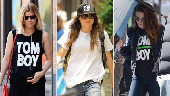 Hereu0027s The Scoop On Those Tom Boy Tees Kate Mara u0026 Kristen Stewart Wear  sc 1 st  SHEfinds & Wildfang Tom Boy | Kate Mara Tom Boy Tee