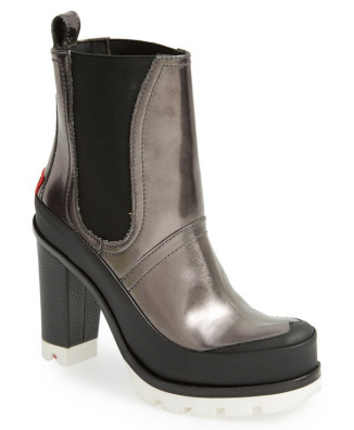 Hunter Original High Heel Chelsea Rain Boot