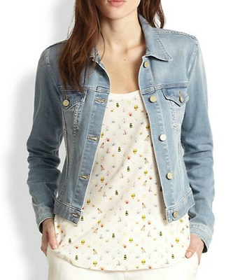 super cheap order online the latest Joie Classic Denim Jacket - SHEfinds
