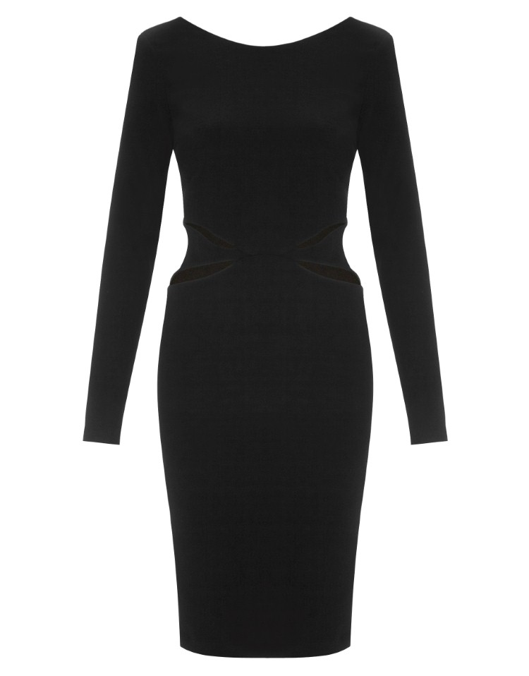 Kardashian Cut Out Bodycon Dress
