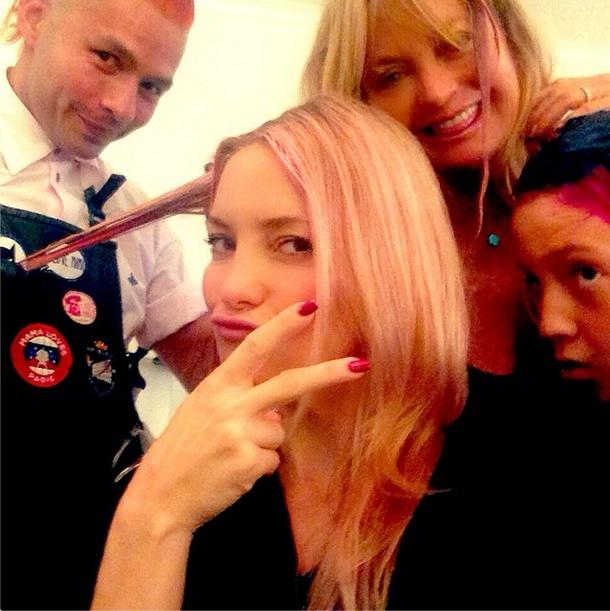 Kate Hudson Pink Hair