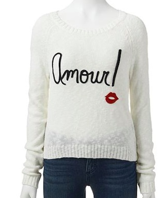 SO Crop Sweater