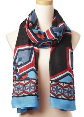 Theodora and Callum Scarf