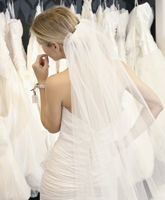 gown shopping