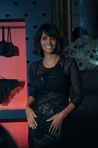 Halle Berry introduces herself as a business owner for the first time, with a line of French lingerie Scandale