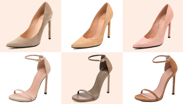 Stuart Weitzman Nudes Collection | Best Nude Pumps