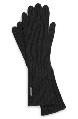 Burberry Cashmere Blend Touch Tech Knit Gloves