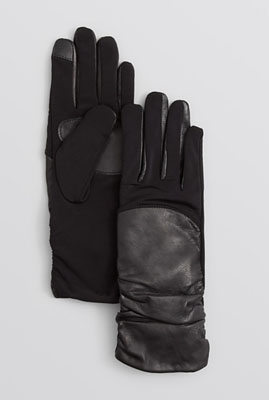 Echo Superfit Ruched Tech Gloves