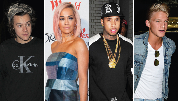 Who is dating who celebrity list