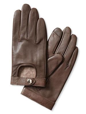 Moto Leather Texting Glove