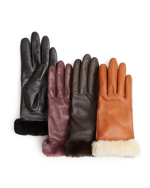UGG® Australia Classic Leather Tech Gloves